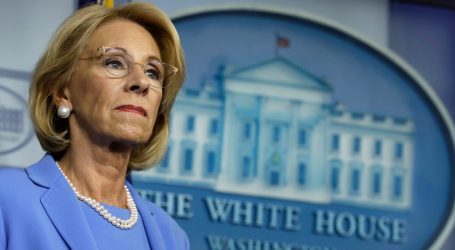 Betsy DeVos Went on CNN and Was Asked About Reopening Schools. It Was a Disaster.