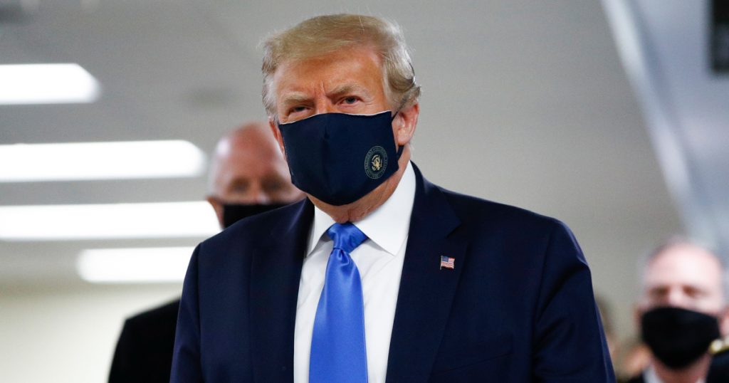 the-big-boy-president-wore-a-big-boy-mask-and-now-the-election-is-over,-aides-say