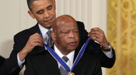 """Obama's John Lewis Eulogy: """"Let's Honor Him by Revitalizing"""" the Voting Rights Act"""