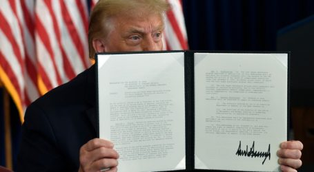 The White House Tries to Spin Trump's Very Legal and Very Cool Executive Orders
