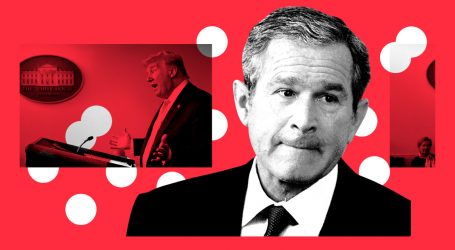 George W. Bush Couldn't Convince Americans to Get Vaccinated. Trump May Do Even Worse.