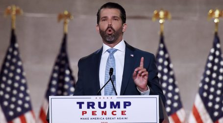 "Don Jr. on the White Teen Who Killed Two Protesters: ""We All Do Stupid Things at 17"""