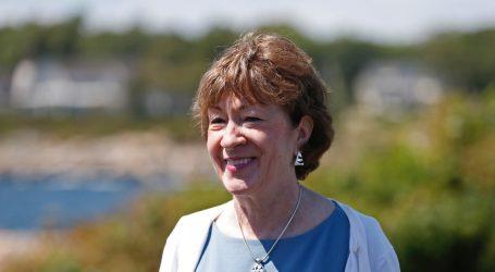 Susan Collins Says Senate Should Wait to Pick RBG's Replacement