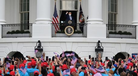 Trump Hosts Yet Another Campaign Rally at the White House