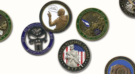The Collectible Coins That Celebrate the Dark Side of American Policing