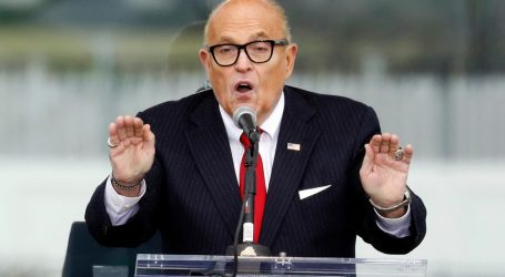 """""""Slow It Down"""": Giuliani Asked GOP Senator to Object to Electoral Votes From 10 States"""