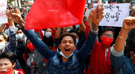 Gripping Photos: Anti-Coup Protesters Are Defying Myanmar's Military in the Streets