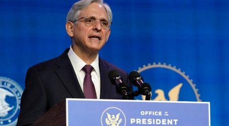 "Merrick Garland Vows to Battle ""Extremist Attacks on Our Democratic Institutions"""